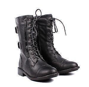 Womens Military Combat Boots fb32ba43bb