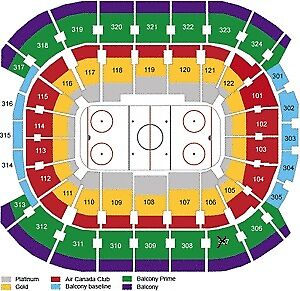 World Cup of Hockey - Finals - Green Section 307 - One Pair