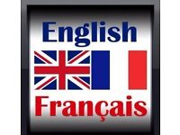 English-French translator available