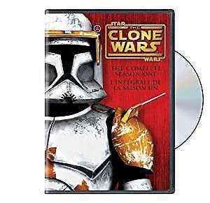 Star Wars Clone Wars Season 1 & 2 DVD