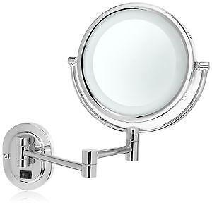 lighted makeup mirror wall mounts