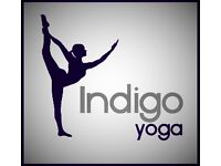 Yoga class, Mottingham, near Eltham