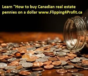 How to buy properties pennies on a dollar & Flip for Profit
