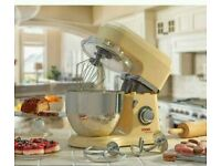 Brand new cooks professional stand mixer with stainless steel bowl