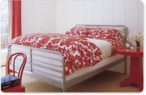 ~ ~ Ikea Silver Double Bed Frame ~ ~