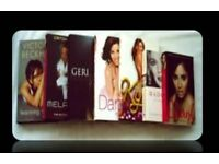 FEMALE SINGER BIOGRAPHIES - (7) - PAPERBACK/HARDCOVER - FOR SALE