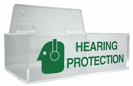 Zoro Select 23Z422 Reusable Ear Plugs With Dispenser, Table Top, Wall Mount,