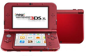 Brand New Nintendo 3DS XL (Red) with new case
