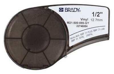Brady M21-500-595-gy Label Tape Cartridgepermanent Printer