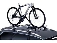 Thule roofrack and bike carrier