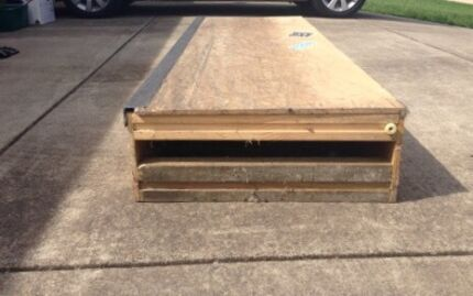 Skateboard grind box  Largs Maitland Area Preview