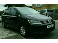 2011 VW Sharan 2.0d MPV Automatic PCO registered UBER Ready quick Sale