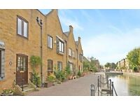A recently re-decorated 1 bedroom flat within a tranquil canal side development.