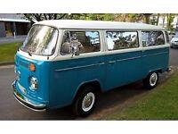 1979 VW Microbus Campervan - refurb engine - ready to go!