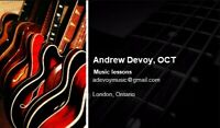 Certified Guitar Lessons