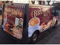 Mobile Food Catering/Coffee Van - with established sites in Cobham, Burgess Hill & Brighton