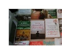 Books lots of titles, paperback & hardback from £1- to £3- each autobiographies