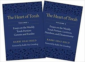 The Heart of Torah Gift Set Essays on The Weekly Torah Portion