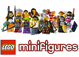 Lego CMF Minifigs - Assorted - S1 -> Current available.