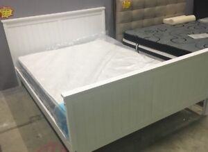 White timber bed frame - Brand new! Prahran Stonnington Area Preview