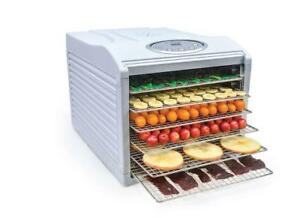 Aroma NutriWare 6 Tray Digital Food Dehydrator Stainless Steel Trays (FREE SHIPPING)
