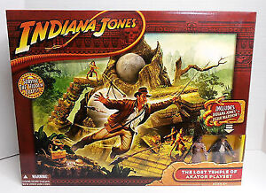 Indiana Jones The Lost Temple of Akator Playset