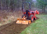 WANTED ASAP : Tractor and Rototilling