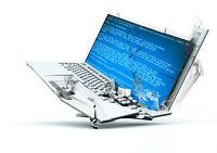 achat d ordinateurs portable briser ou endommager pour pieces !