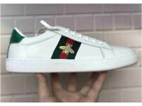 Gucci Bee leather sneakers Trainers BRAND NEW