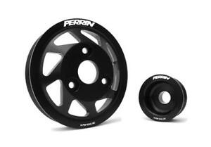 PERRIN Accessory Pulley Kit for BRZ/FRS Black or Red