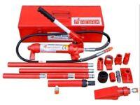 McAnax Portable Ram 10 ton Porta Power Hydraulic Body Repair Kit