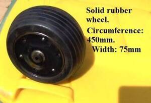 Wheels. Solid rubber. Forrestfield Kalamunda Area Preview