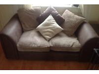 2 Seater Sofa For Sale - Sofa is in PERFECT condition. Extremely comfy. Measurements: 150cm x 60cm
