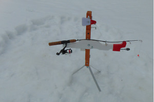MOTORIZED AUTO JIGGER FOR WATER OR ICE FISHING