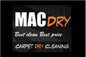MACDRY carpet DRY cleaning SPECIAL Ferryden Park Port Adelaide Area Preview