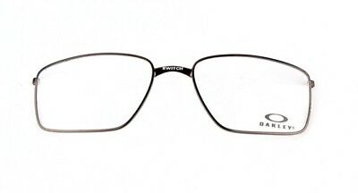 New Authentic Oakley Crosslink Switch OX3128 0153 Metal Eye Glass Frame 53mm