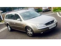 AUTOMATIC ESTATE 2003 FORD MONDEO 2.0 TDCI GHIA 130 BHP MINT DRIVE
