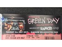 2 x Green Day tickets