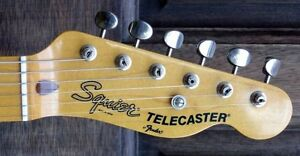 Old Early 80's Squier Stratocaster or Telecaster Kitchener / Waterloo Kitchener Area image 3