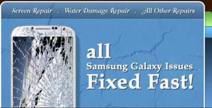 Samsung Galaxy S S1 S2 S3 S4 S5 Galaxy Note Screen Repairs