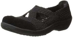 Women's Sketcher's Black Entice Relaxed Fit Walking Shoes
