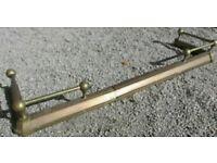 Brass Hearth Fender