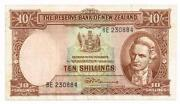 New Zealand 10 Shillings