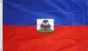 NEW 3X5 HAITI FLAG 3'X5' FOOT HAITIAN BANNER SIGN USA Seller