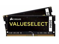 Corsair 8GB DDR4 SODIMM Laptop RAM Memory 2x 4GB Kit