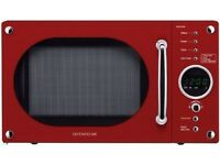 Microwave oven Daewoo KOR6N9RR 20 litre 800 watt Touch Control, Red