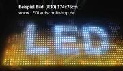 LED Laufschrift Outdoor