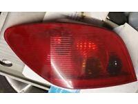 Peugeot 307 N/S Rear Light (2003)