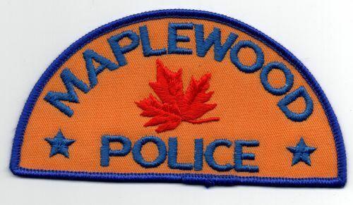 MINNESOTA MN MAPLEWOOD POLICE NICE PATCH SHERIFF