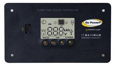 GO POWER GP-PWM-30  12  VOLT DIGITAL 30 AMP SOLAR CHARGE REGULATOR NEW
